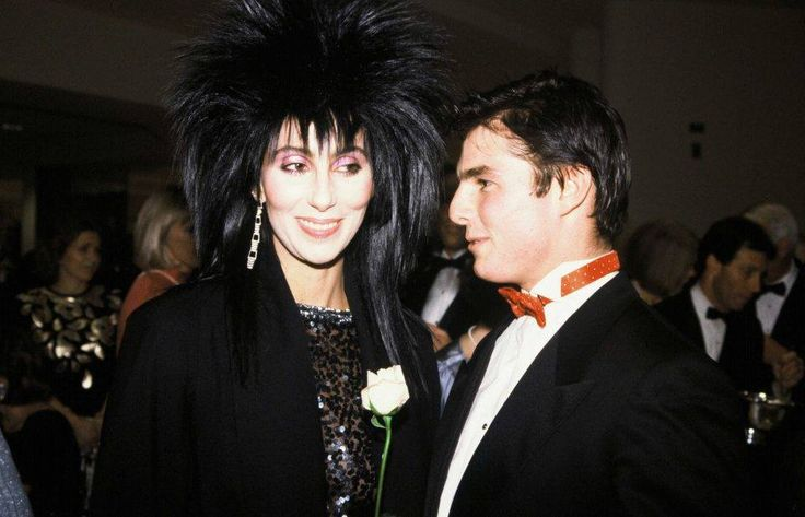 When you were young... (Tom Cruise dated Cher)