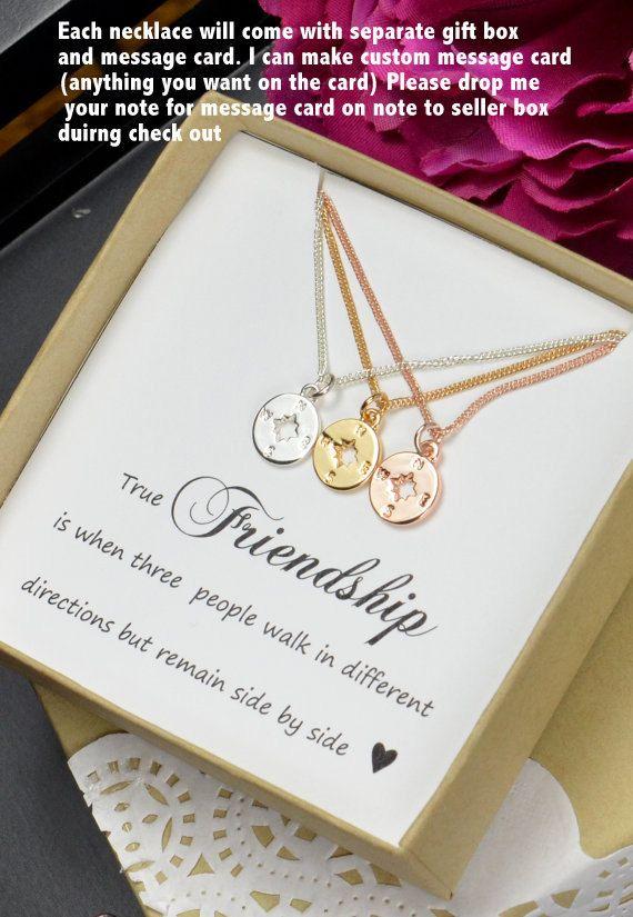 Die besten 25 kompass halskette ideen auf pinterest beste freunde halskette der goldene - Geschenk schwester 25 ...