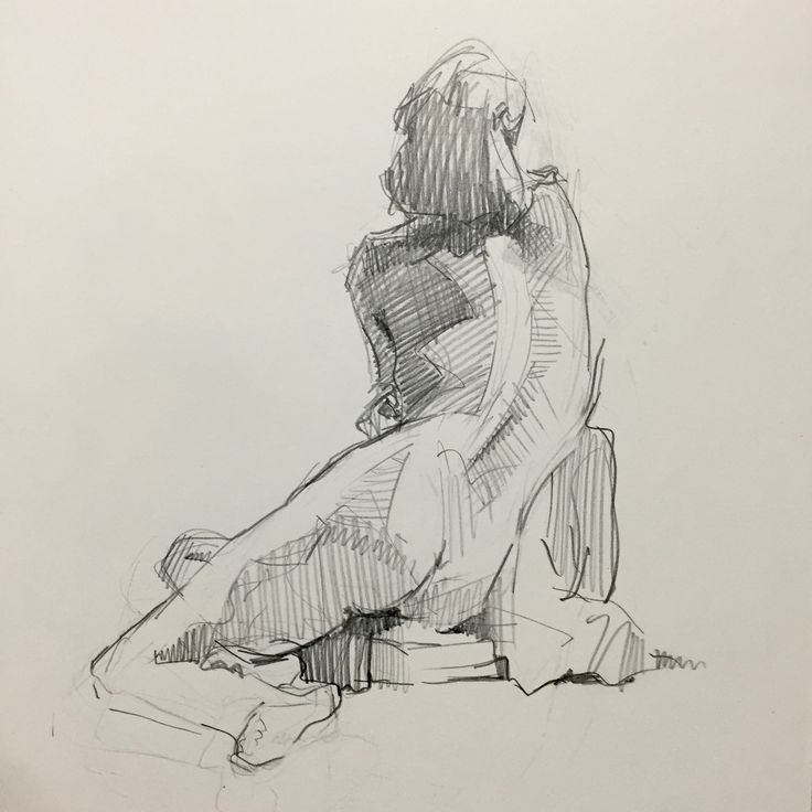 Figure #sketch 4.13.16 by Sarah Sedwick. #art #drawing #figuredrawing #sketchbook #sarahsedwick