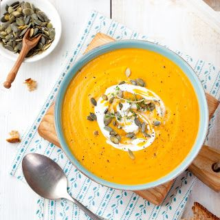 Roasted Pumpkin and Carrot Soup
