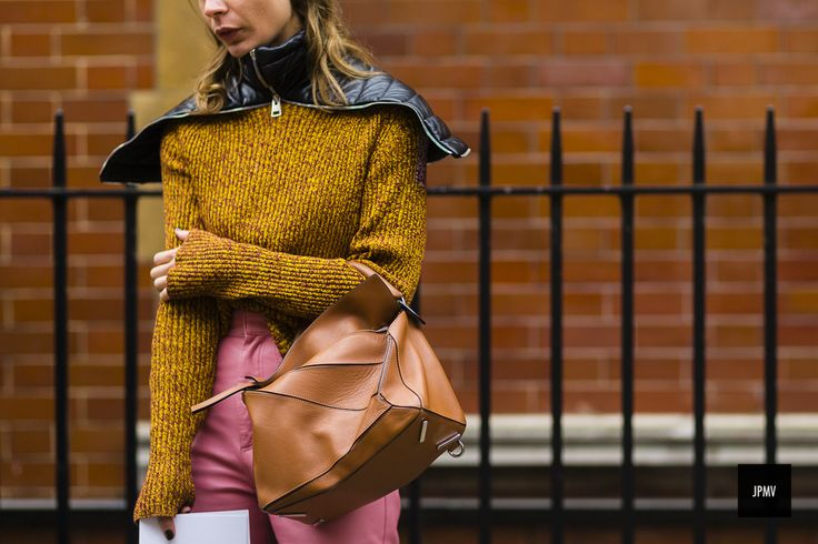 112 Best Loewe Puzzle Bag Streetstyle Images On Pinterest