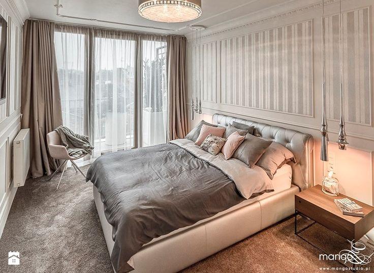 APARTAMENT STYLOWY BIG - Sypialnia, styl klasyczny - zdjęcie od MANGO Studio Architektury Wnętrz i Ogrodów