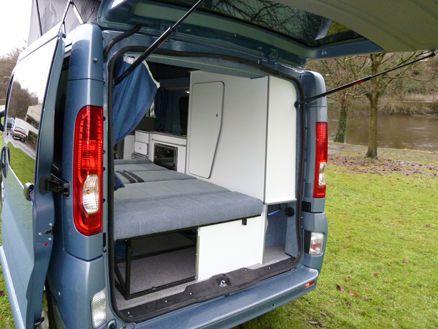 Van Travel Camper Conversion Vauxhall Vivaro Life Campers Caravan Living