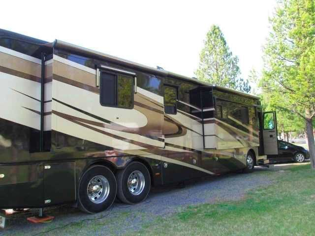 "2007 Used Holiday Rambler Imperial Class A in Florida FL.Recreational Vehicle, rv, 2007 Holiday Rambler Imperial 42FST - Tag Axle. Price lowered on 12-30-2015 for the new year! This coach is priced way below the low retail valuation on the NADA website. The inside has been upgraded within the last year. The upgrades include a 48"" Samsung Smart TV that retracts when not in use. The small TV in front by the windshield has been removed and replaced with matching cabinetry. The uncomfortable RV…"