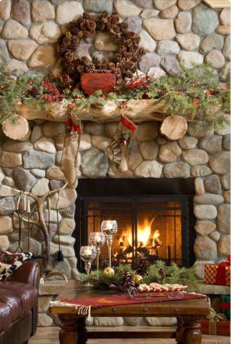48 best Decorations Noel interieur chalet images on Pinterest ...