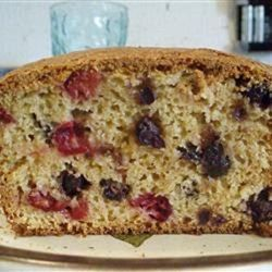 Saskatoon Cranberry Loaf