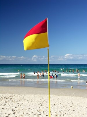 beach flags; an aussie icon