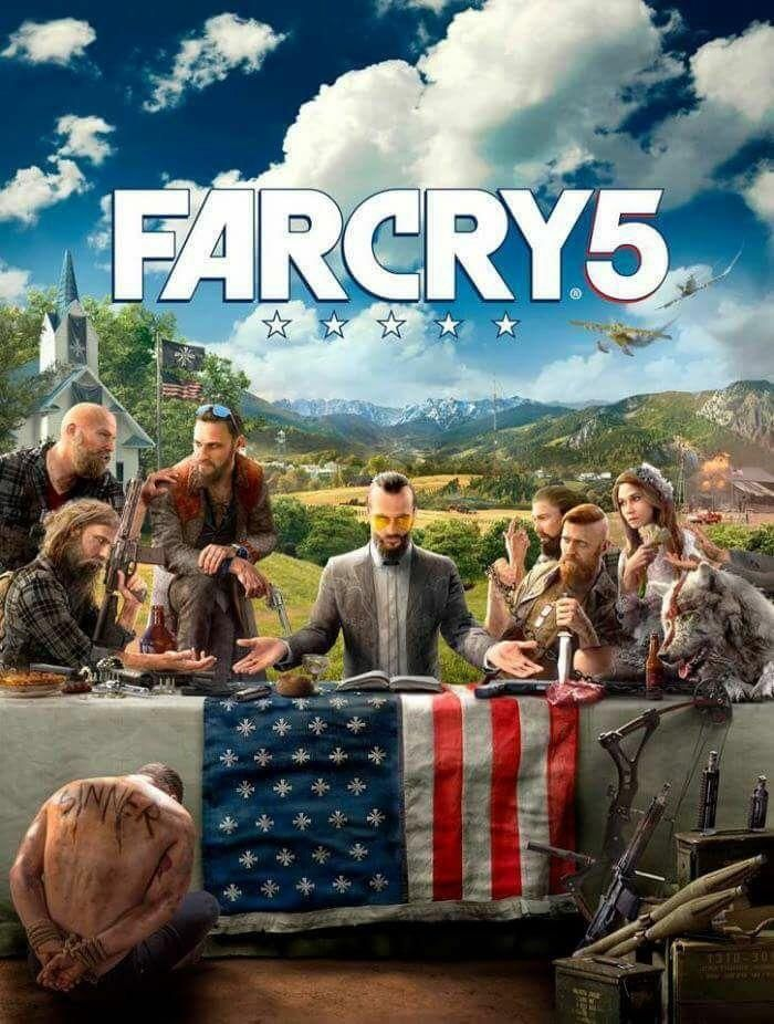 The rumored Far Cry 5 cover art thoughts?