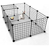 RayGar XXL L121 X W76 X H82cm Dog Cage Kennel Puppy Cat Pet Crate Cage Carrier 2 Door Foldable - New (XXL): Amazon.co.uk: Pet Supplies