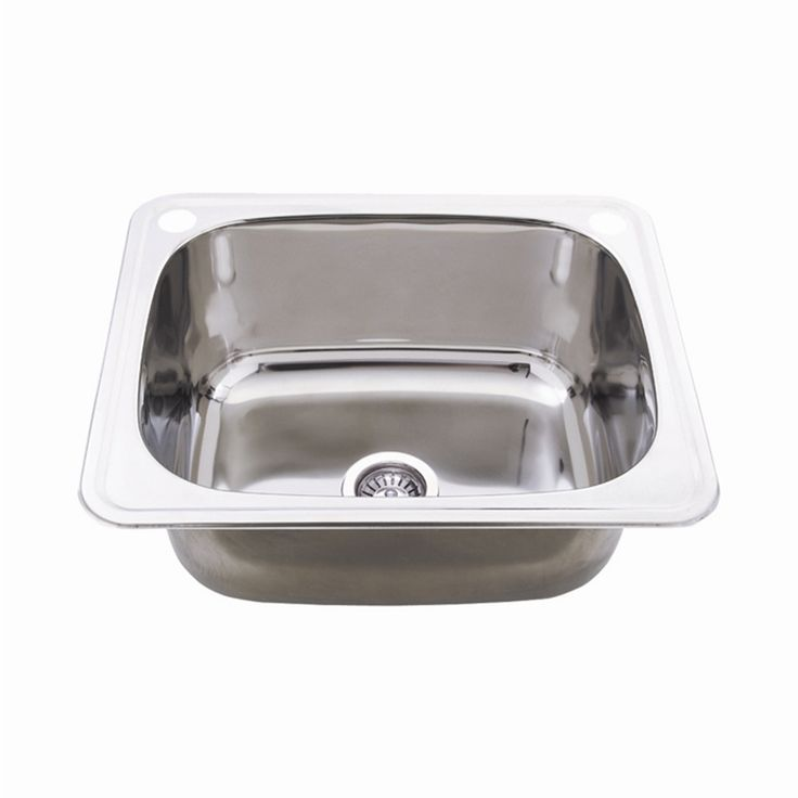 $125 Everhard Benchline 45L Stainless Steel Drop In Bowl I/N 5140481 | Bunnings Warehouse