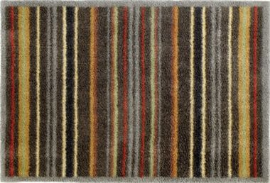 Graphic Stripe - best selling stripe door mat from Turtle Mat. This dirt-trapping mat is long lasting, absorbent and machine washable. Runner and doormat sizes available, from £47.95