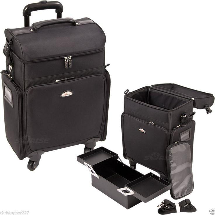 Salon Trolley Bag On Wheels Rolling Black Supply Makeup Hairstylist Case Laptop #Sunrise http://www.ebay.com/itm/Salon-Trolley-Bag-On-Wheels-Rolling-Black-Supply-Makeup-Hairstylist-Case-Laptop-/162417873356?ssPageName=STRK:MESE:IT