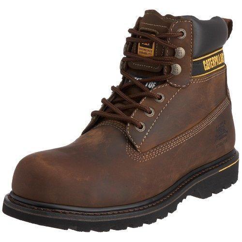 Oferta: 87.35€. Comprar Ofertas de Cat Footwear Holton SB - Botas de seguridad para hombre, color marrón, talla 46 barato. ¡Mira las ofertas!