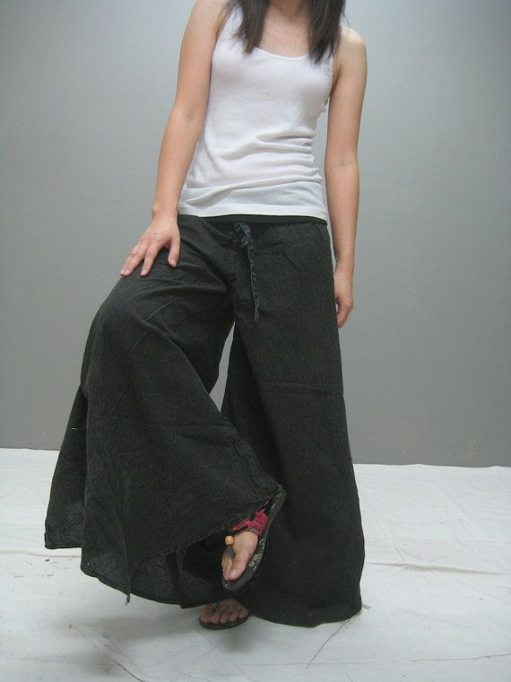 A wide variety of wide leg yoga pants options are available to you, such as anti-static, anti-bacterial, and breathable. You can also choose from s, xl, and xs. As well as from spandex / cotton, spandex / polyester, and nylon / cotton.