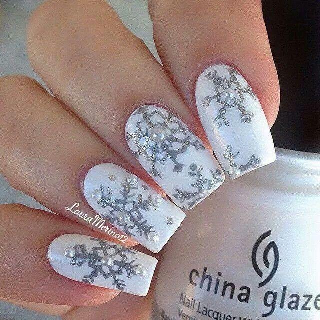 Cute Winter Nail Designs Easy Do Yourself Papillon Day Spa