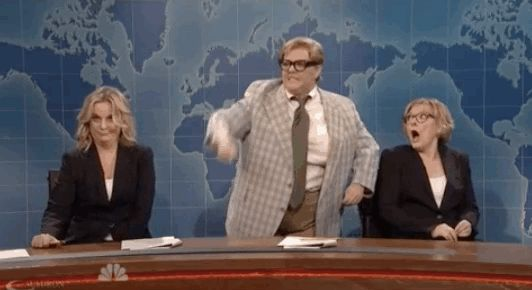 "LOOK. AT. IT. | Melissa McCarthy's Matt Foley Impression Won The ""SNL"" 40th Anniversary Special"