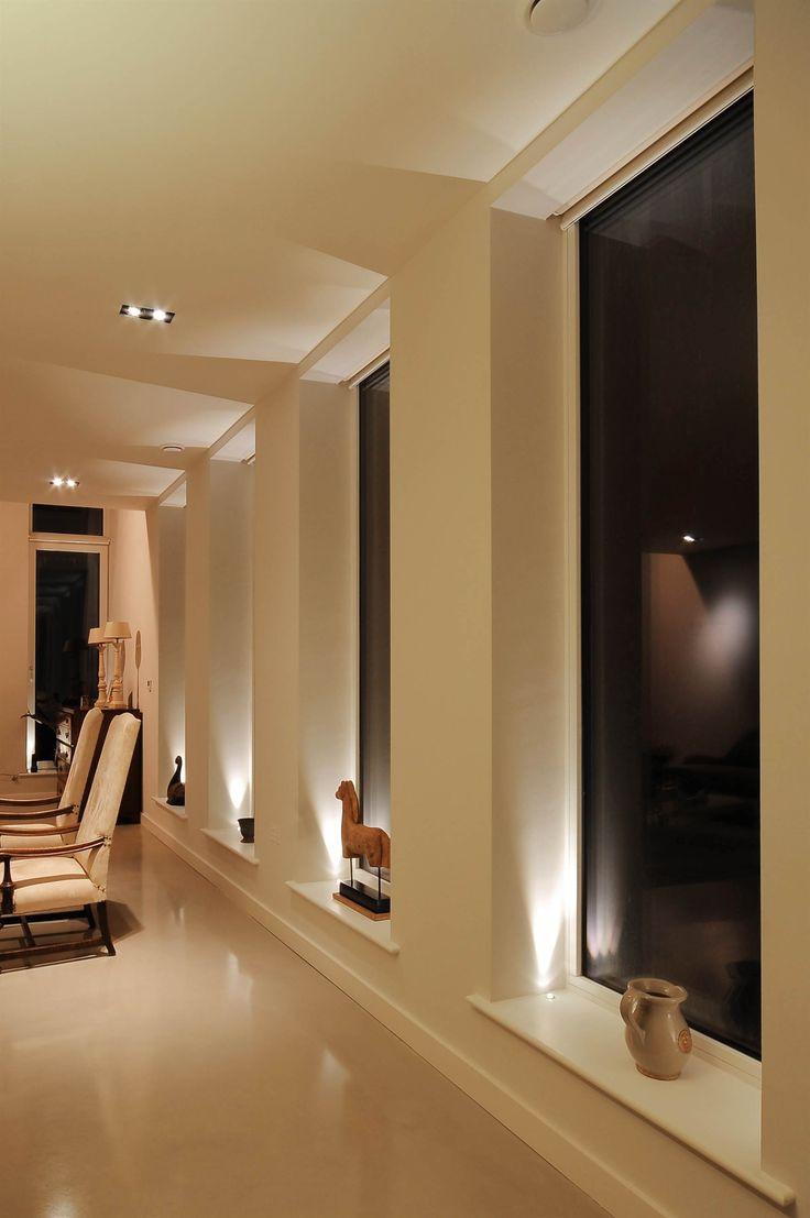 Lighting Basement Washroom Stairs: Living Room Lighting Design Mr Resistor. Uplights In
