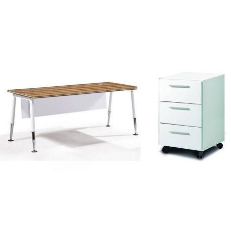 Conjunto exterior gorgona compuesto de 1 mesa y 6 sillas for Mesa 5 posiciones