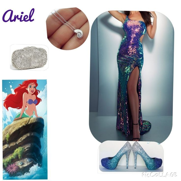 Ariel is ons of the most elegant Disney characters