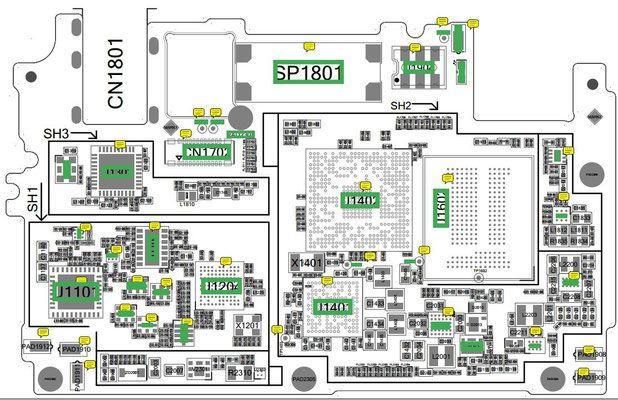 Oppo Schematics Diagrams And Service Manuals Pdf Circuit Diagram Smartphone Repair Diagram