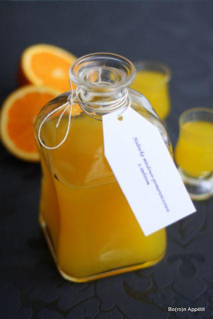 Blog Bo(ro)n Appétit: Nalewka miodowo-pomarańczowa z imbirem