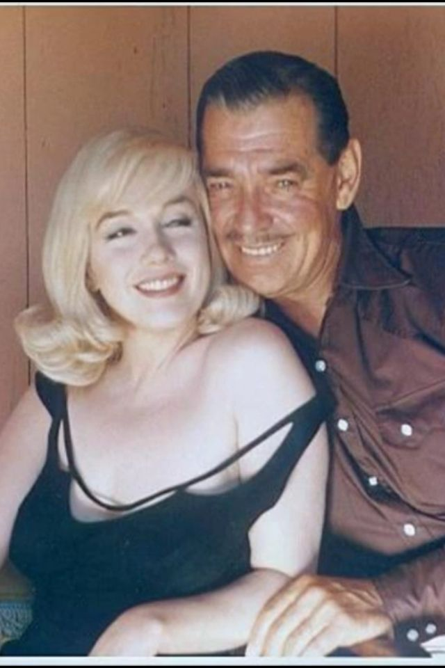 marilyn and clark gable i have always been attracted to older men they are kinder young men. Black Bedroom Furniture Sets. Home Design Ideas