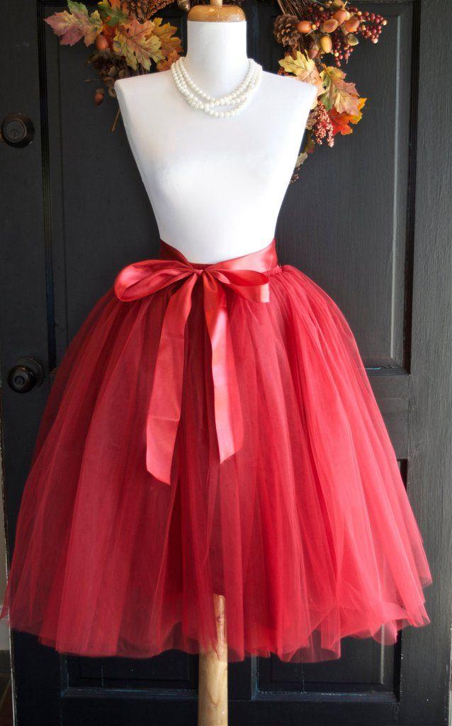 Cranberry Maroon Tulle skirt Tutu - maidenlaneboutique