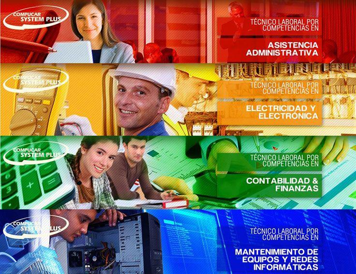 Compucar System Plus ofrece programas técnicos dirigidos a la satisfacción de las necesidades del sector productivo.