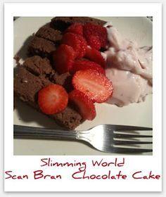 Slimming world scan bran chocolate cake