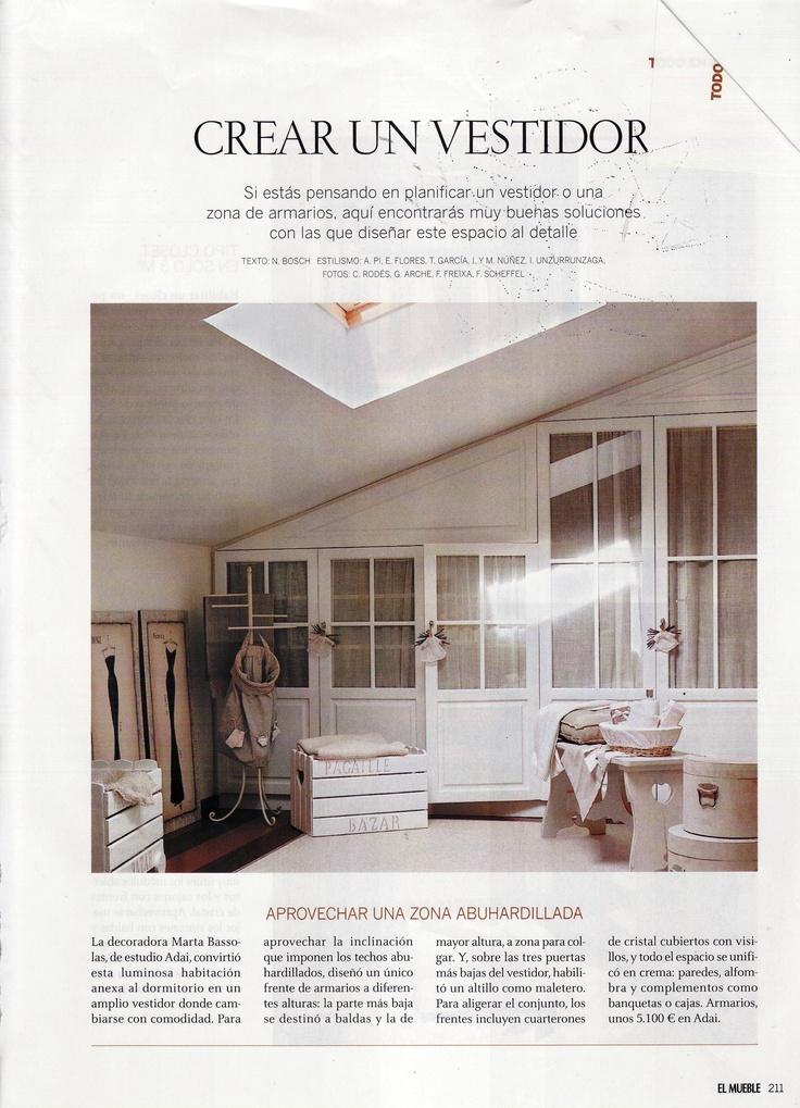 Armarios buhardilla armarios pinterest armario - Ideas para loft ...