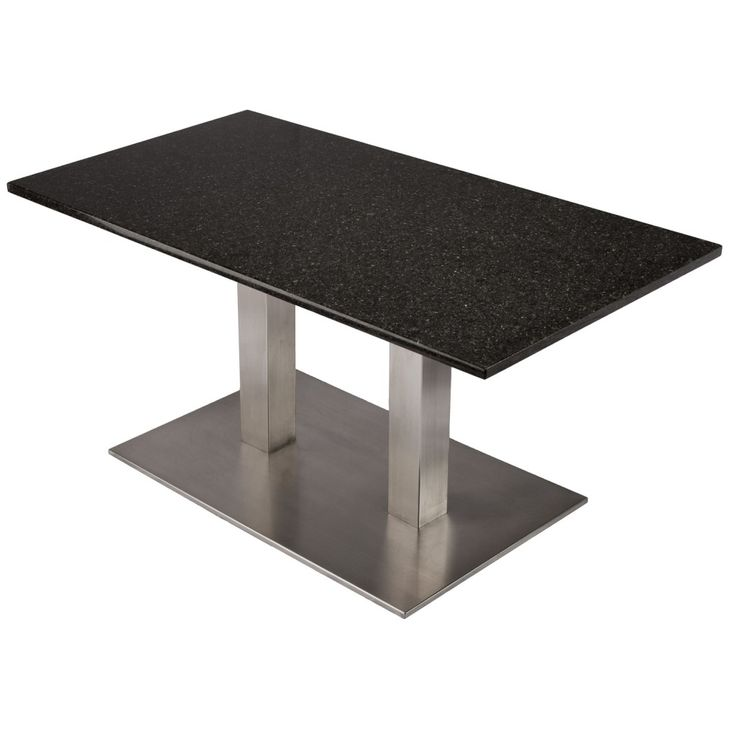 Our Stainless Steel Table Base. This Base Has Dual Columns For Extra  Support. You Can Make A Gorgeous Custom Coffee Table (this One Is In Our  Office) To ...