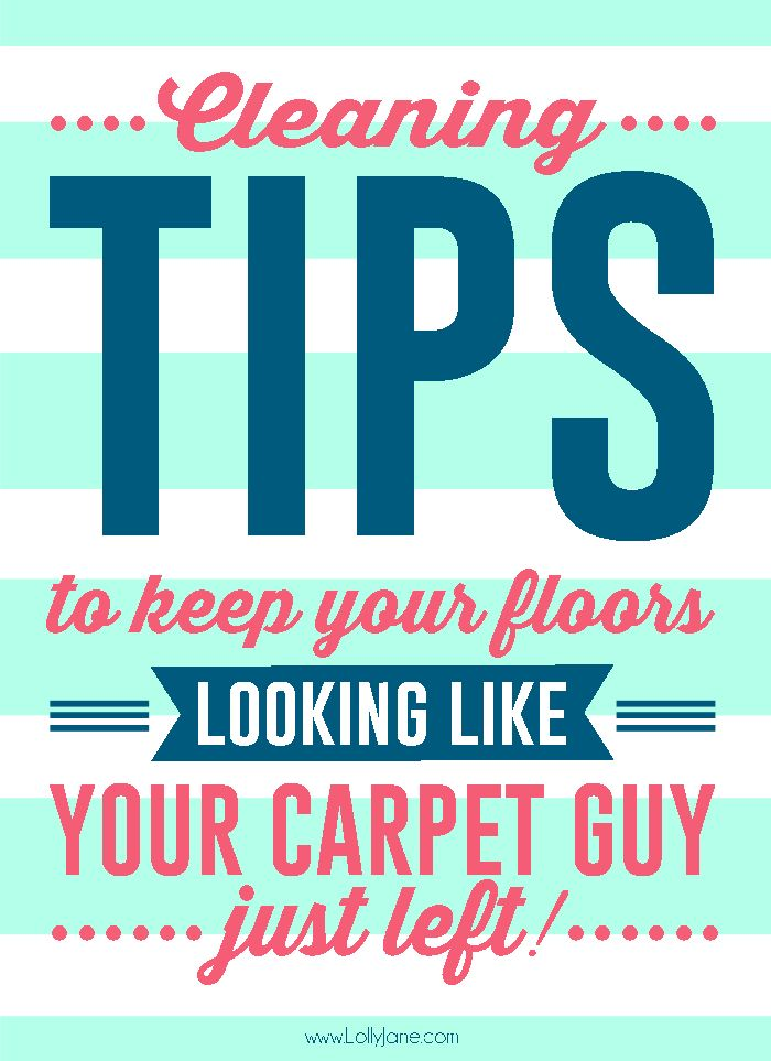 cleaning tips to keep your floors fresh in between professional services!