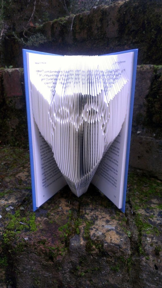 Folded Book Art  Book folded into Owl by TheFoldedBookCompany, £12.50