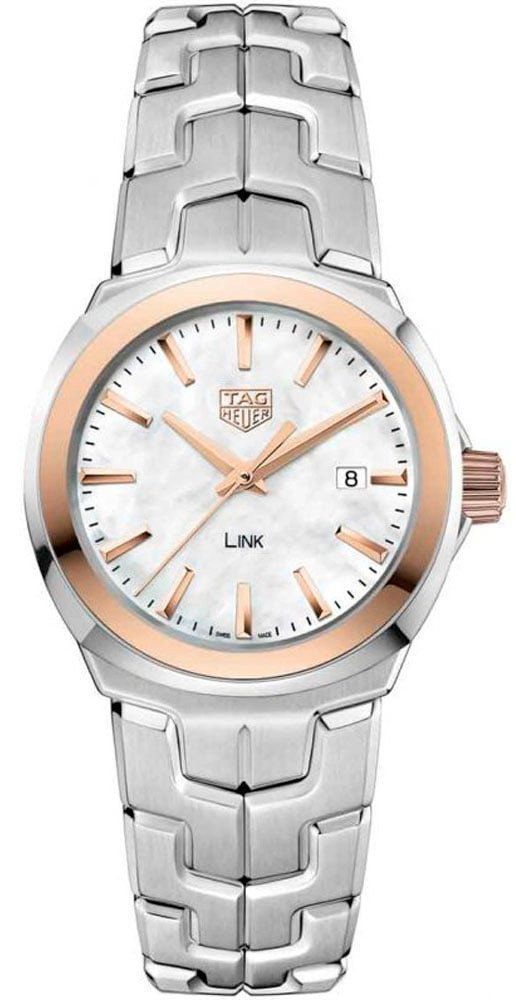 TAG Heuer Watch Link Quartz Lady  #add -content  #bezel -fixed  #bracelet -strap-steel  #brand -tag-heuer  #case -material-steel  #case -width-32mm  #date -yes  #delivery -timescale-call-us  #dial -colour-white  #gender -ladies  #luxury   #movement -quartz-battery  #new -product-yes  #official -stockist-for-tag-heuer-watches  #packaging -tag-heuer-watch-packaging  #style -dress  #subcat -link  #supplier -model-no-wbc1350-ba0600  #warranty -tag-heuer-official-2-year-guarantee  #water -r..