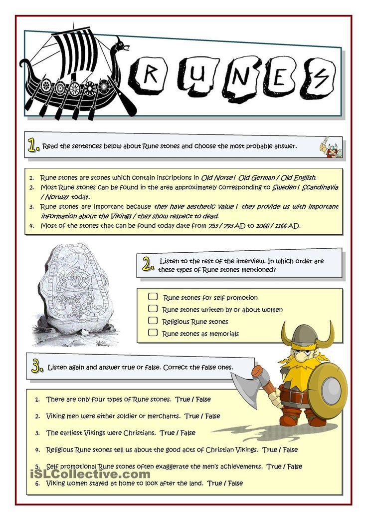 Printable Worksheets viking worksheets : 16 best Anglo-Saxons KS1 and KS2 classroom and homework resources ...