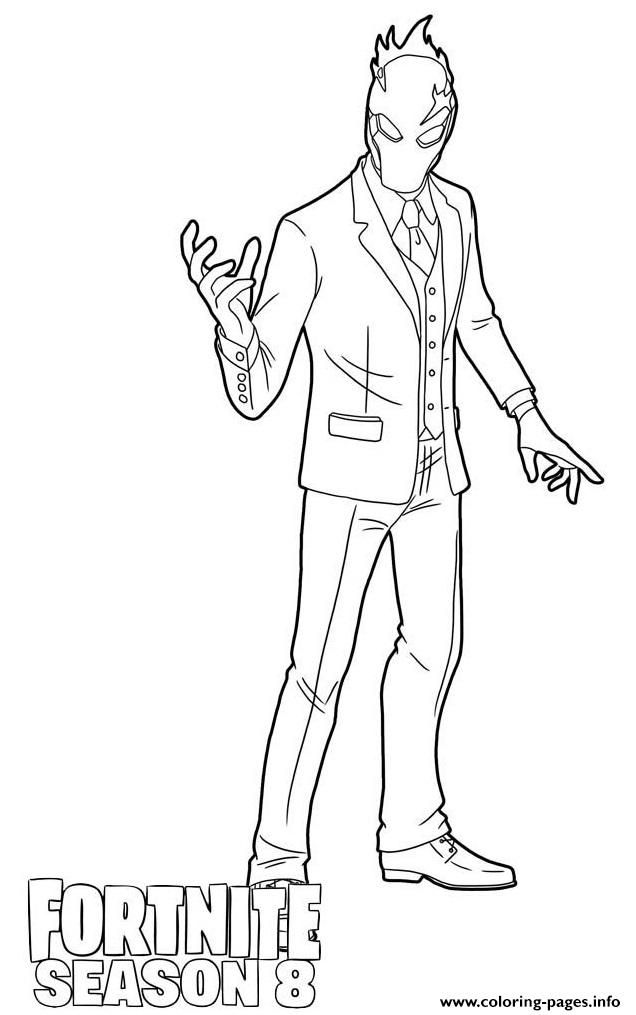 Pin On Fortnite Colouring Pages