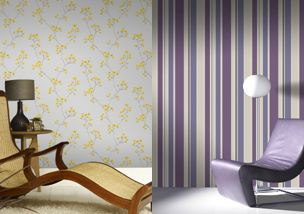 Striped Wallpaper Designs - Bathroom Wallpaper: 5 Essential Tips