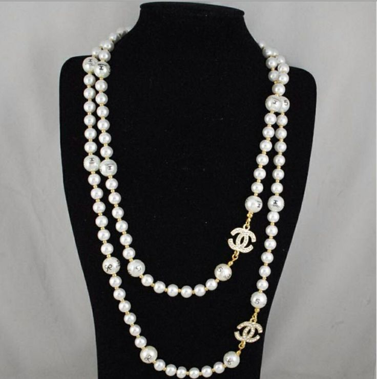 best 25 chanel pearl necklace ideas on chanel