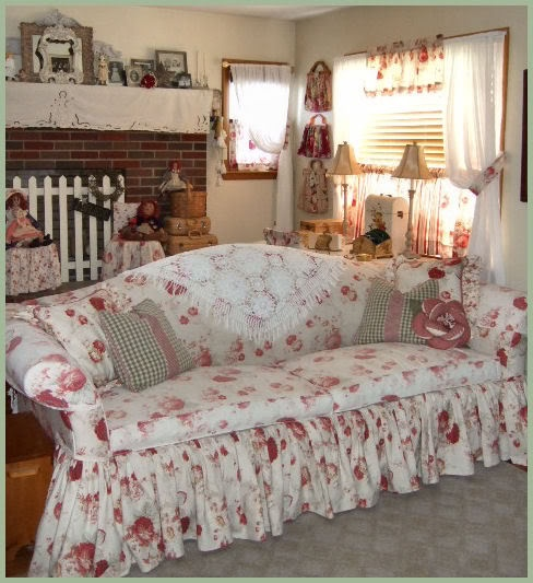 Norfolk Rose Waverly Fabric My Old Sofa Mbr Norfolk Vintage Rose Fabric By Waverly
