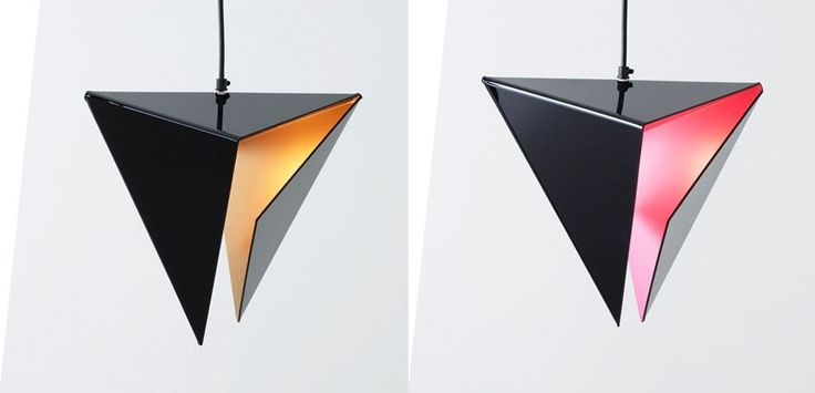 The STEALTH pendant lamp by Aarevalo has an intense dynamic form that is visually appealing and refreshingly futuristic.