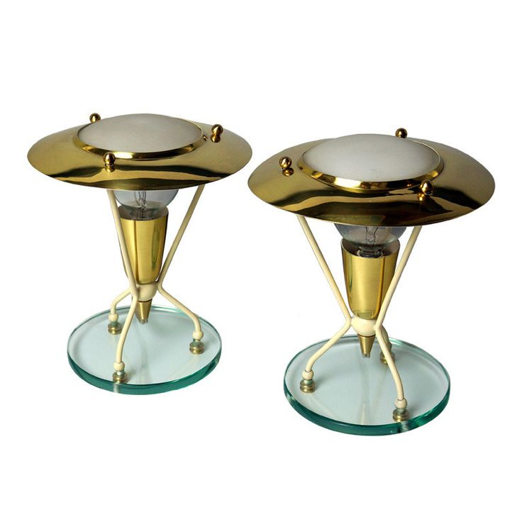 Pair Italian Table Lamps | From A Unique Collection Of Antique And Modern Table  Lamps At · Mid Century ...