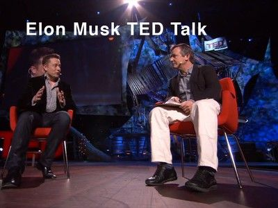 Ted Talk Electric Cars