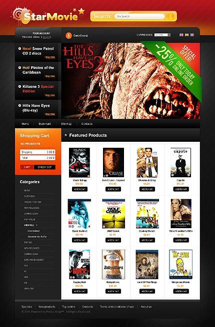 Star Movie PrestaShop Themes by Delta