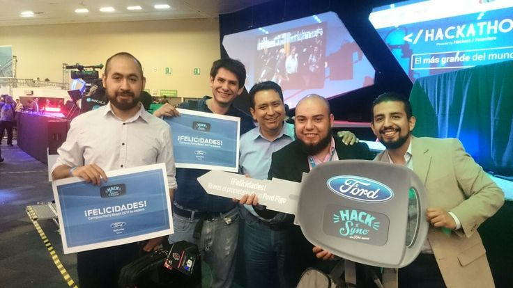 La automotriz presentó a las ideas ganadoras del reto Hack 'n' Sync que tuvo lugar en el reciente Campus Party en México.