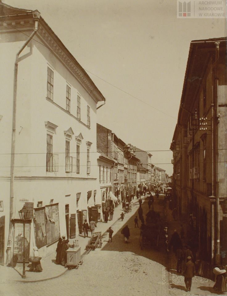 Ulica Józefa, ok. 1908-1910.
