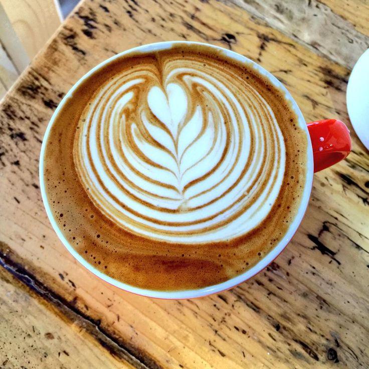 Dreamy looking morning latte!