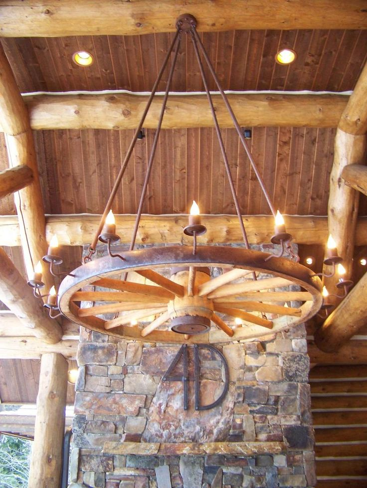 The 25 best Wagon wheel chandelier diy ideas on Pinterest