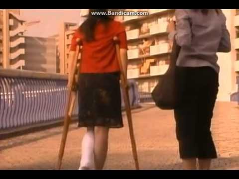 Know nothing crutch fetish sprain woman consider