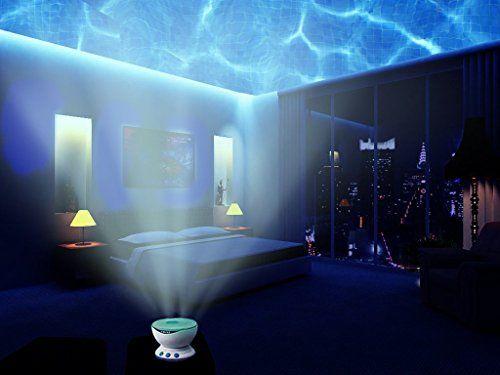Aurora Master Sold by Abco Tech Multicolor Ocean Wave Light Projector, 12 LED, BLUE, RED, GREEN, MULTICOLOR, MP3 iPhone Speaker LED Night Light Abco Tech http://www.amazon.com/dp/B00CKRU3UI/ref=cm_sw_r_pi_dp_RYoPub18GWEA3
