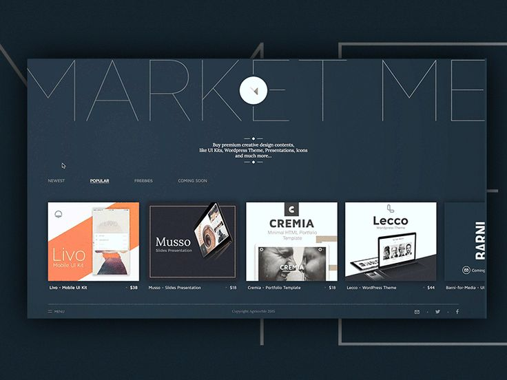Hello Dribbblers,  MarketMe is launch.  After few weeks of hard work and many iterations we finally push MarketMe live.   A ton of new products will be host on our Market in couple weeks, like UI K...